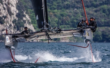 GC32 SERES RIVA CUP 2017 FOILING