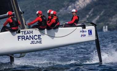GC32 SERIES RIVA CUP 2017 TEAM FRANCE JEUNE ROBIN FOLLIN