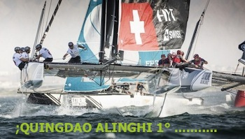 EXTREME SAILING SERIE QUINDAO ALINGHI