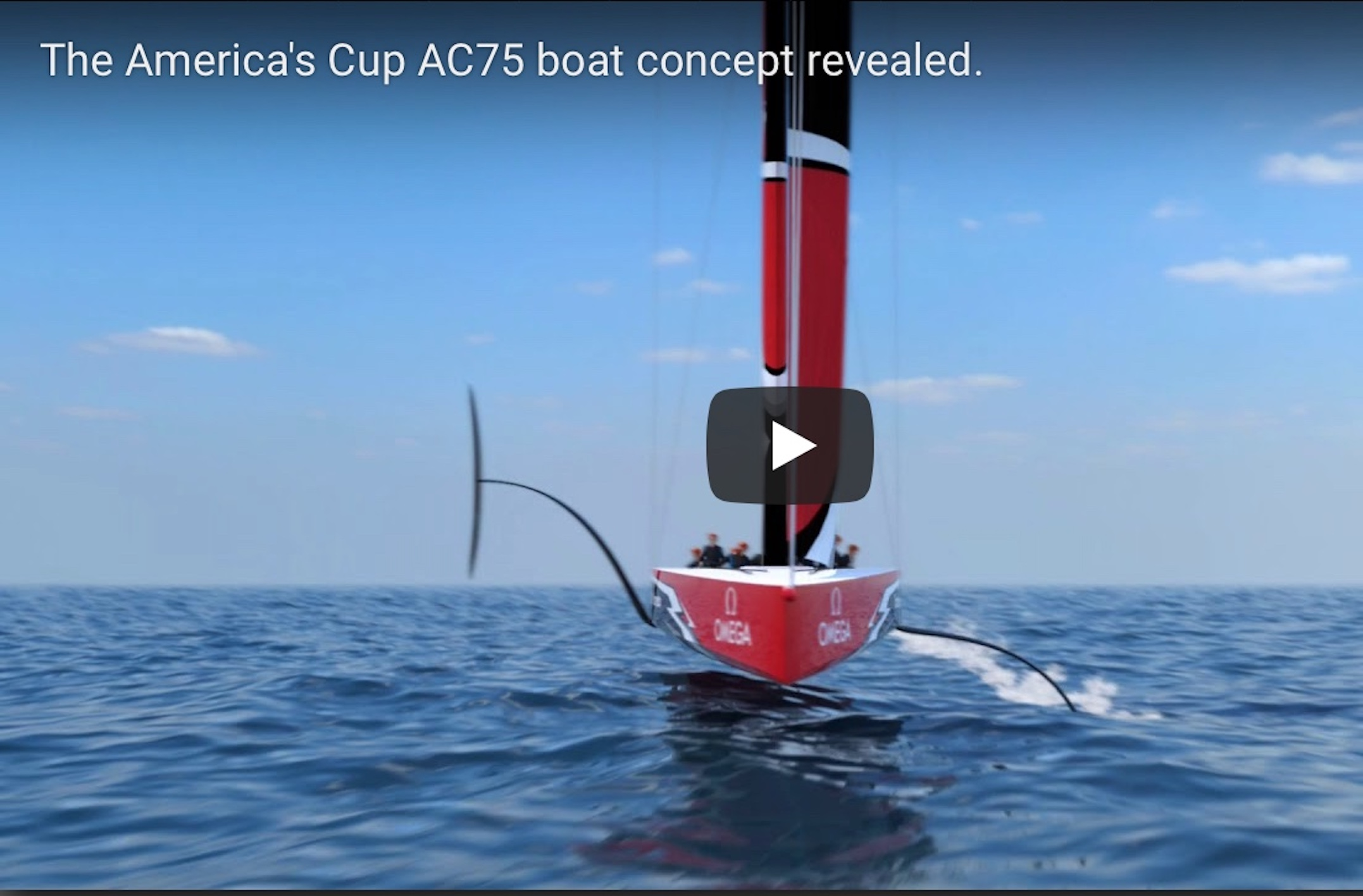 AC75 NEW CONCEPT AMERICA CUP