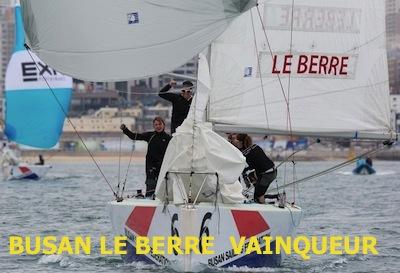BUSAN LE BERRE VAINQUEUR