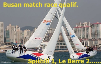 busan day 2 Spithill Le Berre