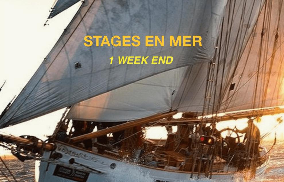 Stages de voile en mer 1 week end