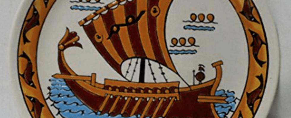 Croisière en Grece les îles Eoliennes , beau plat
