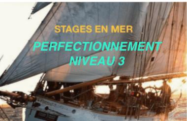 Stages de voile en mer niveau 3