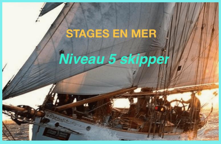 Stages en mer niveau 5