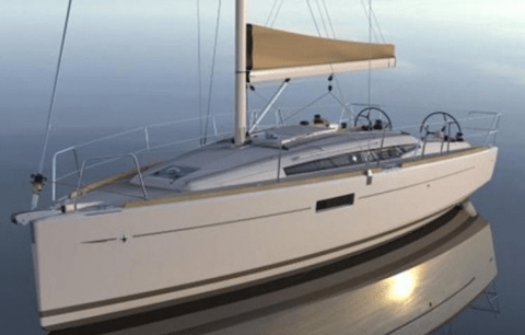 cours stages en Sun odyssey 349