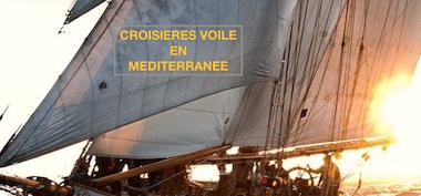 Croisières en voiliers Méditerranée